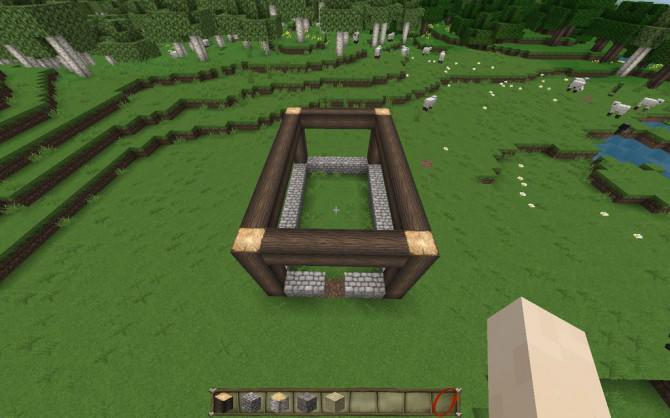 Wie man ein mittelalterliches Haus in Minecraft bauen