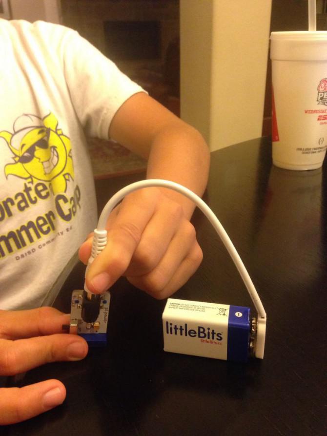LittleBits Arduino MacBook Air Blink Sketch