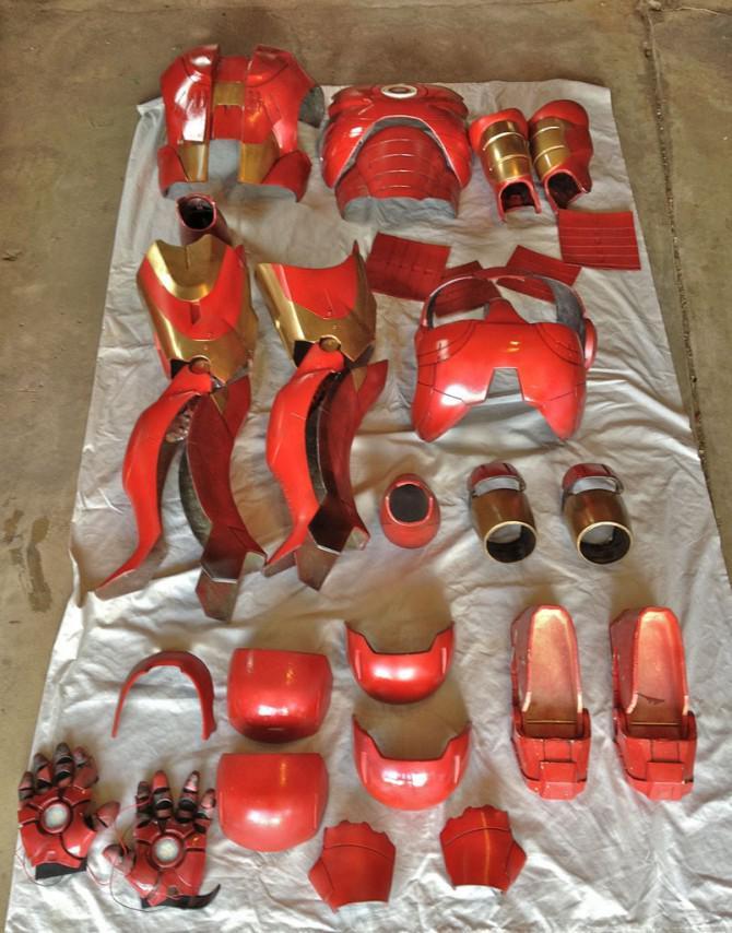 Animatronic Iron Man-Anzug Mk III