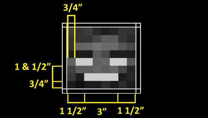 Machen Sie eine Wither Plushie von Minecraft
