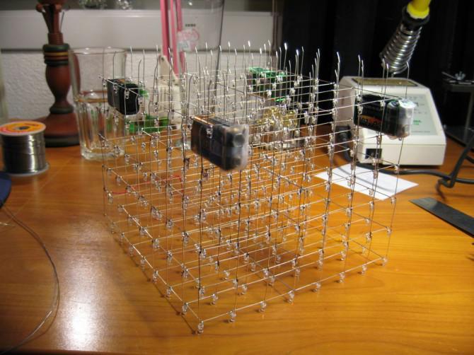 LED Cube 8x8x8