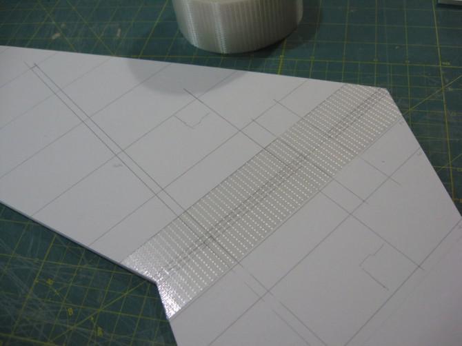 Duct Tape R / C Flugzeug