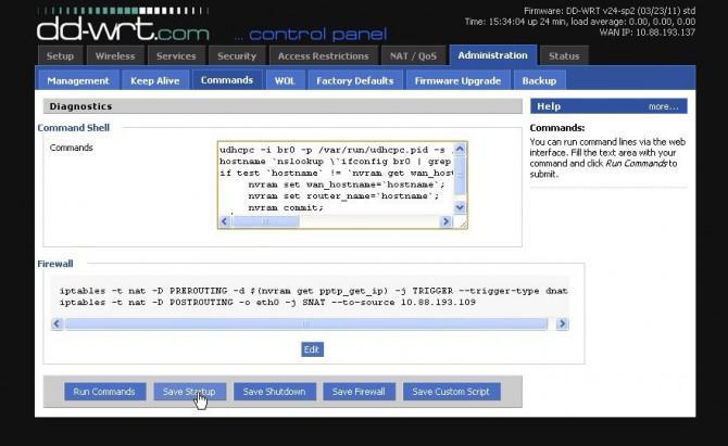 Reginald: a UDP Überwachung bot;  Steuerung über das Internet