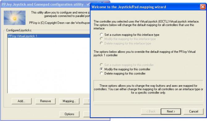 Verwendung PSP als Computer Joystick und dann die Steuerung des Computers mit der PSP