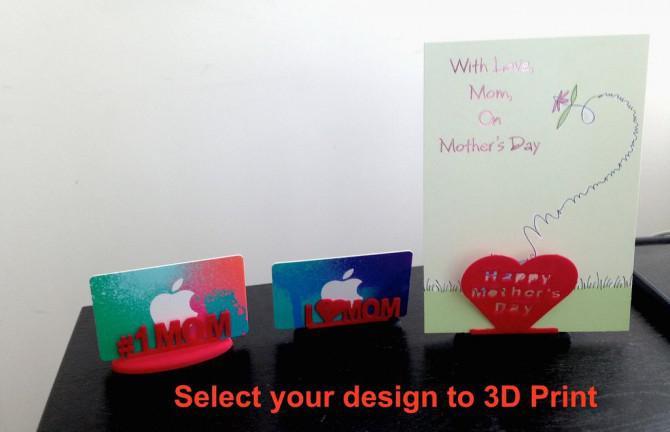 3d Druck Day Gift Card Holder Muttertag