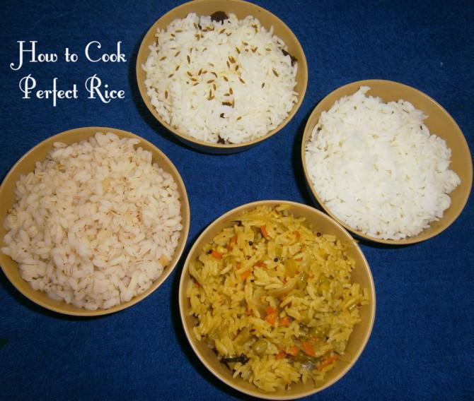 Wie perfekte reis kochen 4 techniques - Reis kochen mikrowelle ...