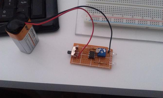 LED-Nachtlicht (Dark Sensor)