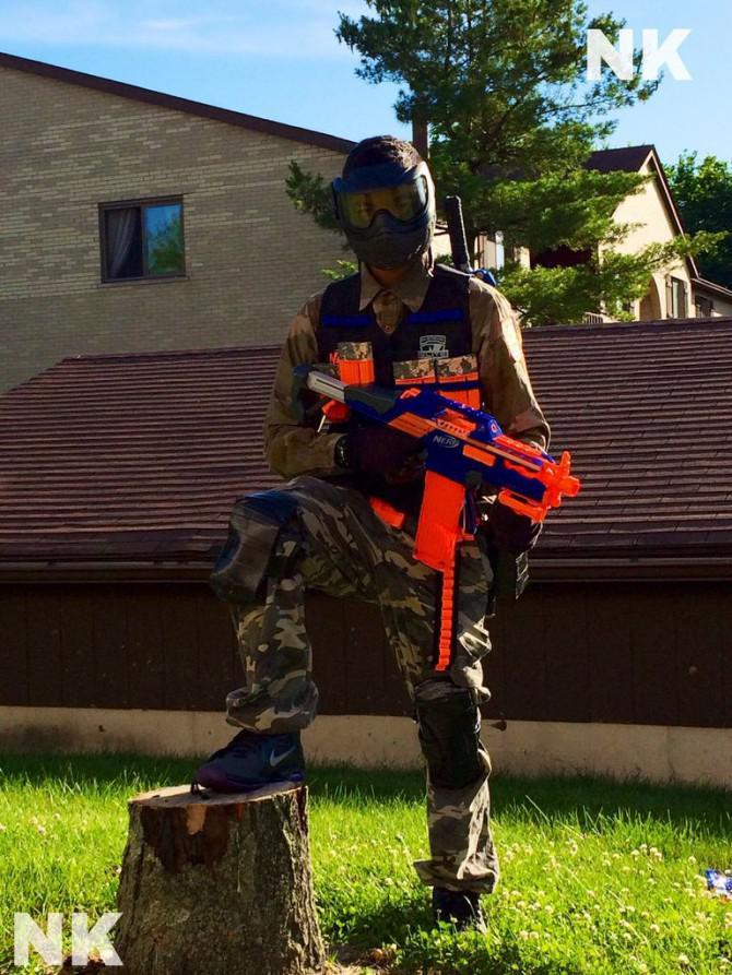 Stellen Sie das perfekte Nerf Uniform!