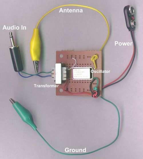 Erstellen Sie eine sehr einfache AM Transmitter.