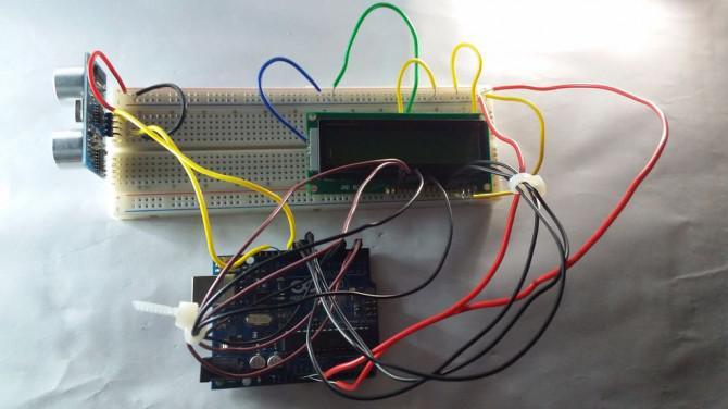 Arduino Ultraschall Entfernungsmesser Lcd : Lcd distanzmessung mit arduino