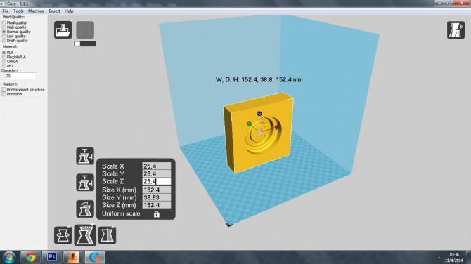 Easy 3D Drucken aus Fusion360 zu A Machines Series 1 Typ