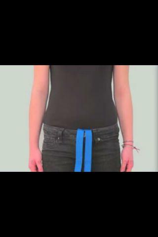 Wie man eine Notfall-Gurtband Gurt machen