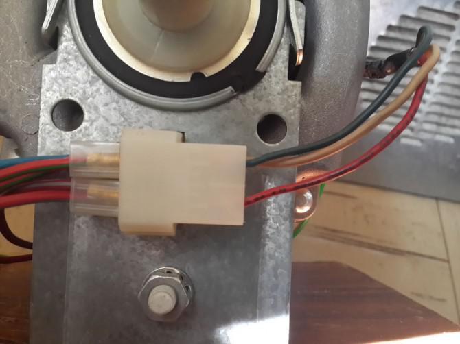 Wiring Wäschetrockner (Wäschetrockner) Motor