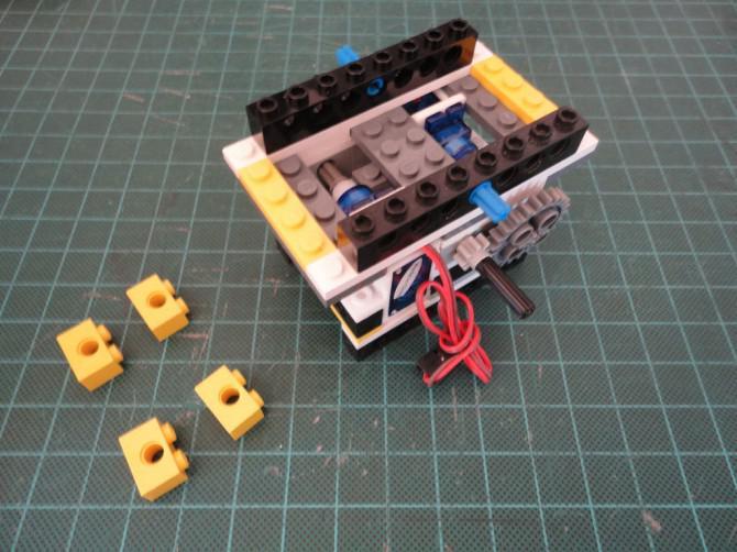 grau grau gray TECHNIC Ziegel 1x2 mit 2 Löcher neu NEW 6 x Lego 32000 Lego