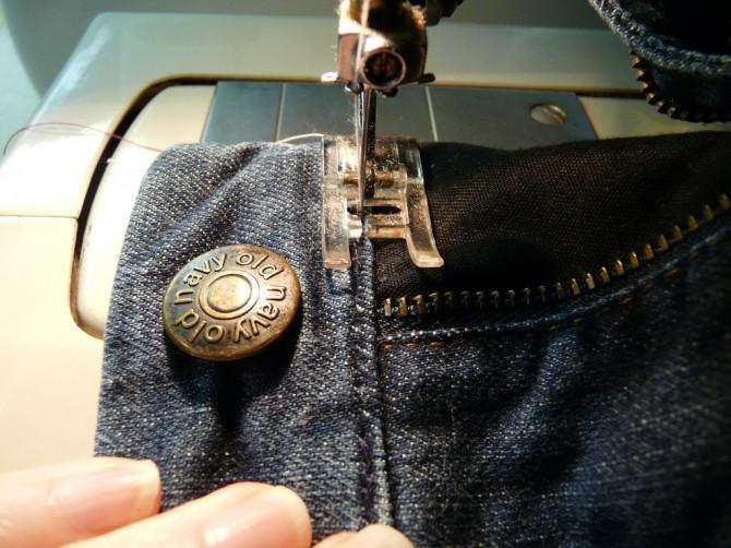 Wie man eine Jeans Reißverschluss, der nicht bleiben wird bis zu reparieren