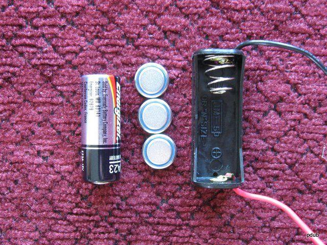 DIY Knopfzellen-Halter