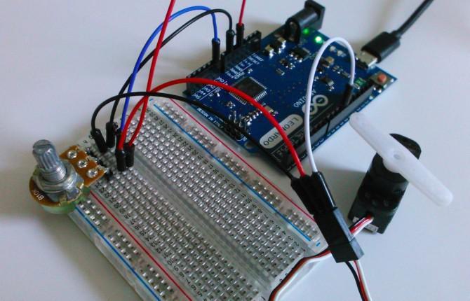 Erste Schritte mit Arduino - Servomotor