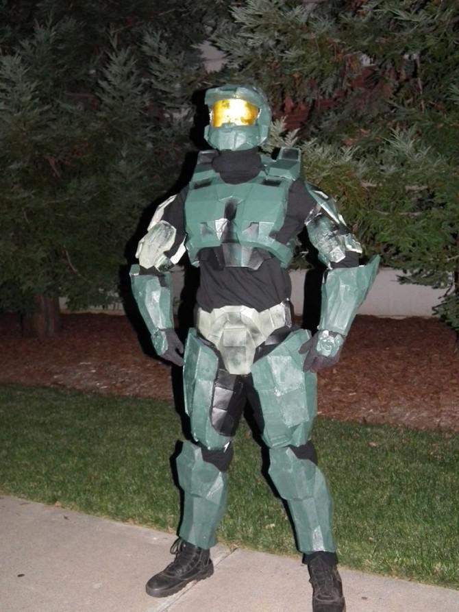 Halloween Halo-Projekt mit einem Budget