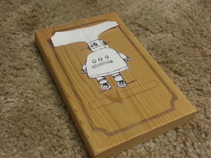 Instructables Robot Holz Burned Picture