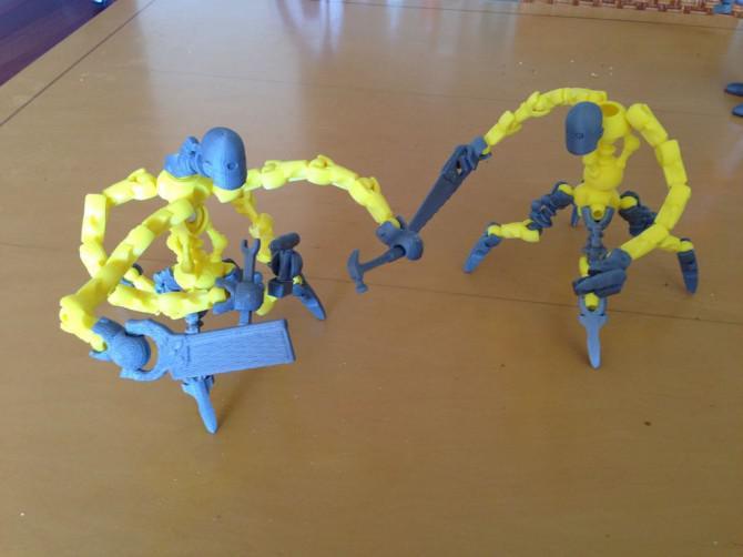 Machen Sie mehr aus Tinkerplay mit Meshmixer und 123D