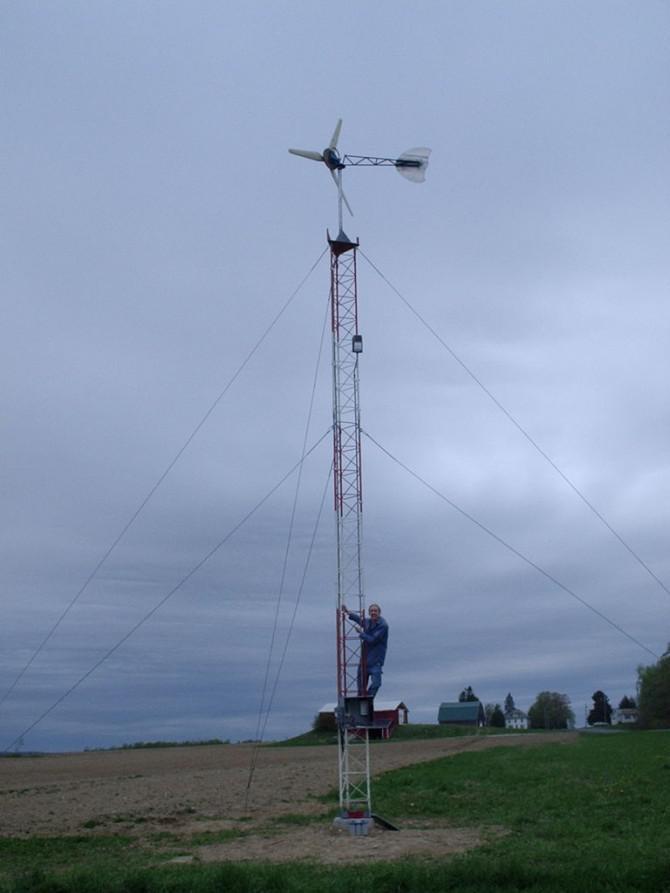 7 Fuß Axial Flux Wind Turbine