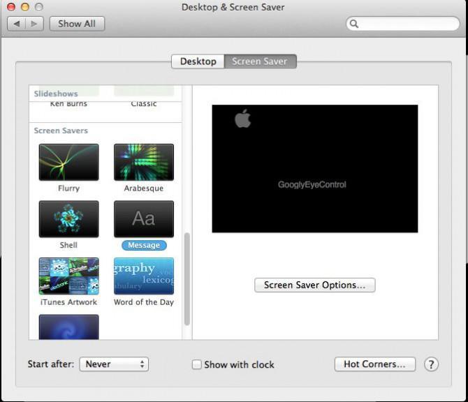 Konfigurieren eines Mac für eine Always-on-Betrieb