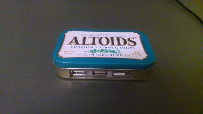 Altoids Tin USB Hub