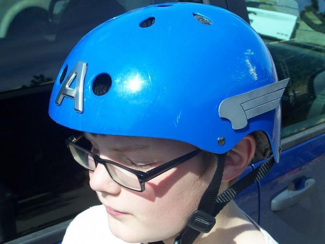 Art-Deco-Adler Wings for Captain America Helmet