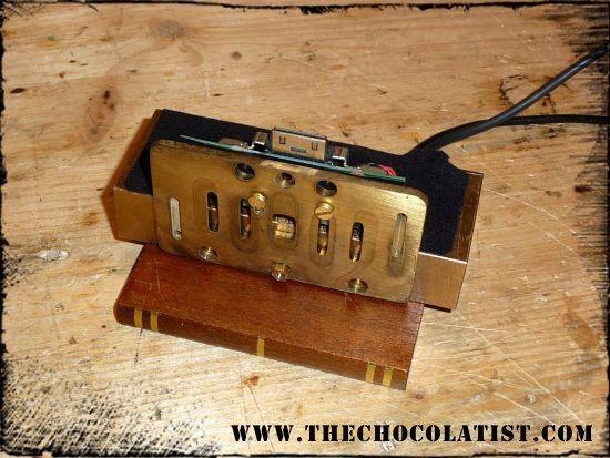 Die Steampunkers Taschen Machine - oder ein viktorianisches MP3 Player