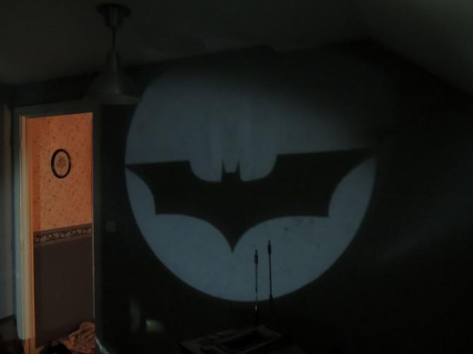 Wie man ein BAT-Signal zu machen