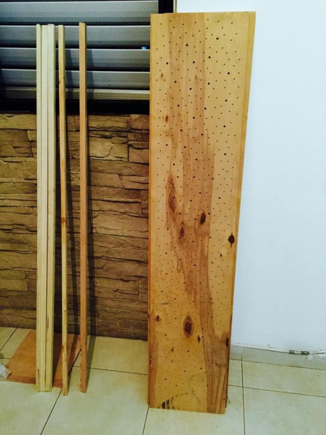 Holz-Raum-Lampe