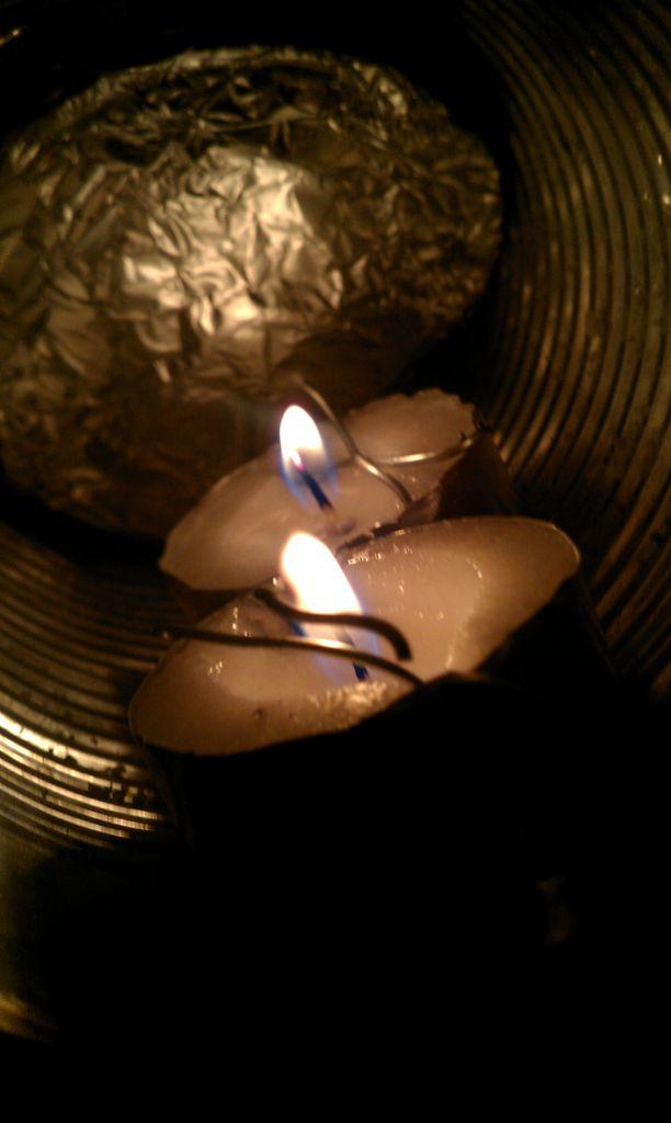 Candle betriebene Laterne