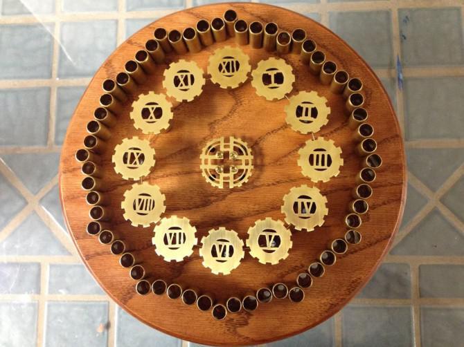 Steampunk LED Clock