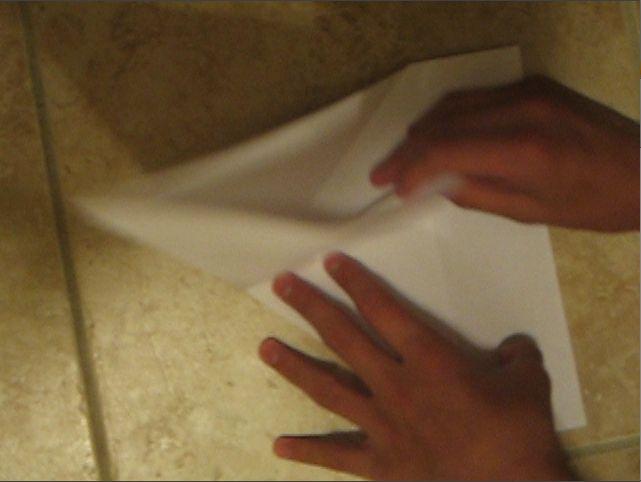 Paper Glider / Boomerang / Trick Flugzeug