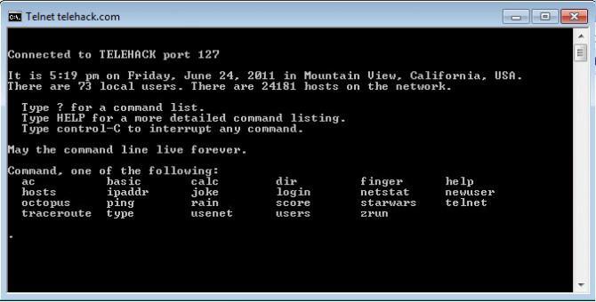 Erleben Sie das Internet der 1980er - Anfang der 90er Jahre