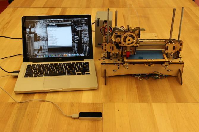 Steuerung eines 3D-Drucker mit Handgesten