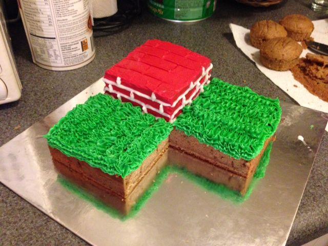 Coole Minecraft Kuchen Der Einfach Zu Tun Ist Und Wird Die Meisten