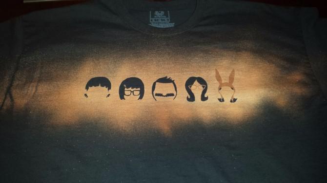 Wie Shirts mit kundenspezifische Designs zu bleichen.