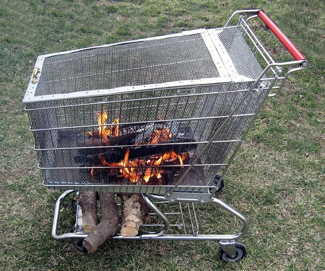 DIY Feuerstelle