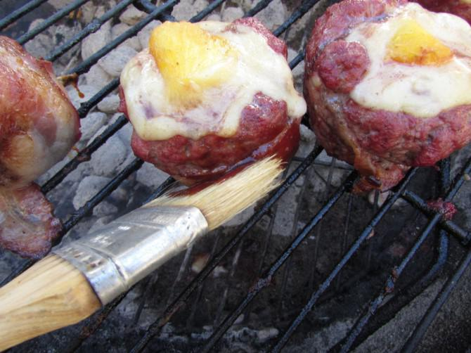 Speckmantel Hawaiian Cheese Burger Rolls