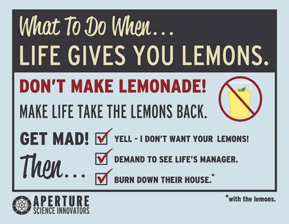 Portal Lemon Granate Anzeige