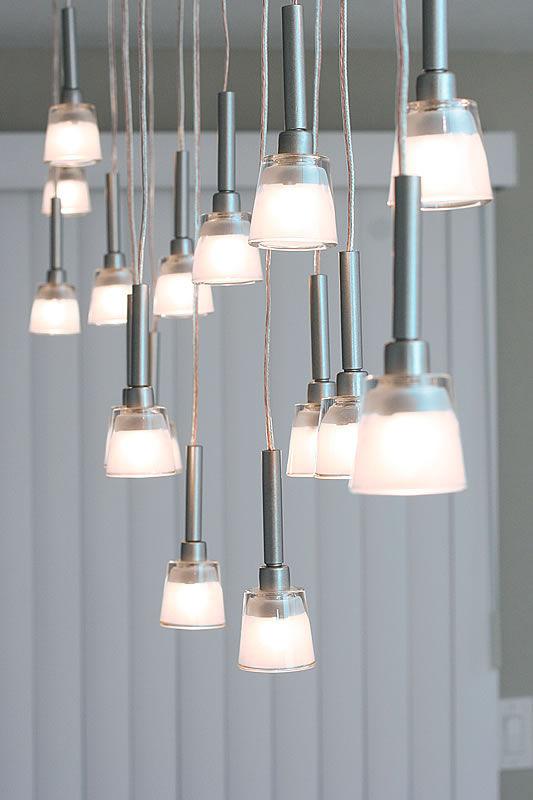 Ikea Anhänger mini-anhänger kronleuchter aus ikea lamps
