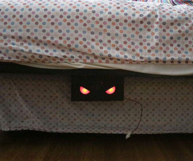 [Newsletter] Ein Board Chair, Getränkedose Grill, unter dem Bett Monster