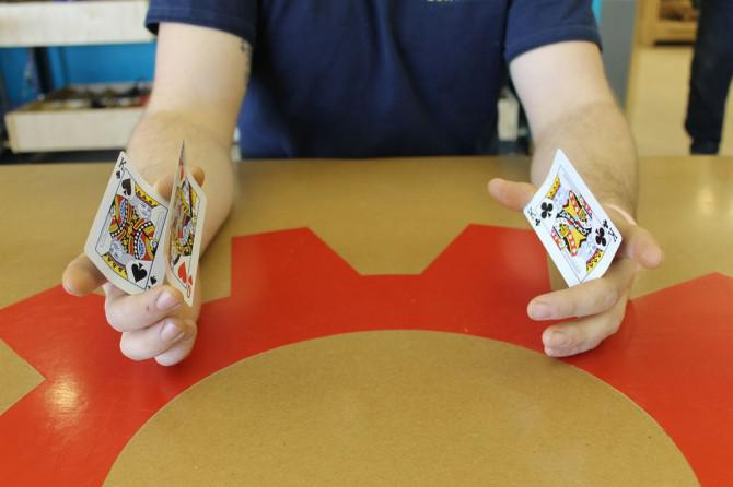 Wie umgehen Three-Card Monte - Ich habe es bei Techshop Detroit!