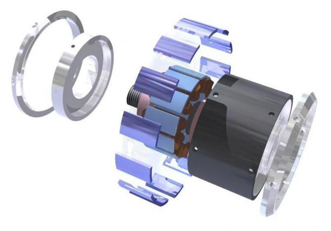 Sie Ihre eigene elektrische Mininaben-Motor