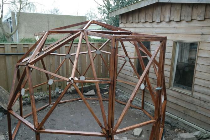 Geodätische Kuppel Selber Bauen 3m geodätische kuppel gewächshaus