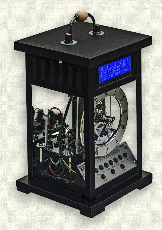 Arduino LCD Master Clock