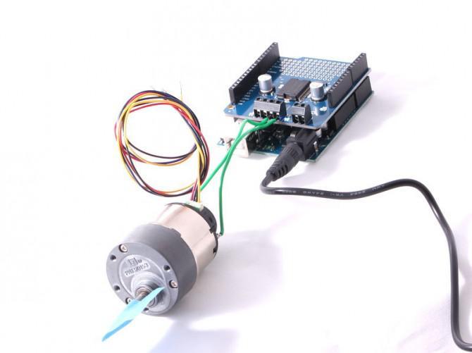 Erste Schritte mit der MC33932 Dual-Motor-Schild