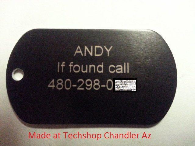 Meine erste Laser Projekt Techshop - Ich habe es bei Techshop, Chandler