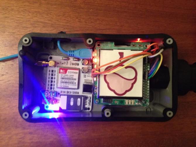 Raspberry Pi Solar-Wetterstation